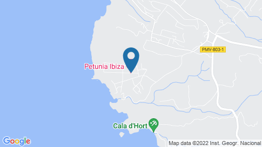 Petunia Ibiza - Adults Only Map