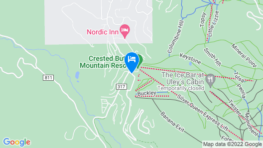 Crested Butte Mountain Resort Properties Map