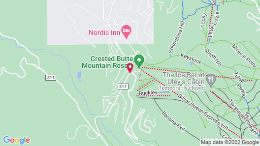 Elevation Hotel and Spa Map