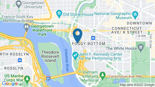 The Watergate Hotel Map