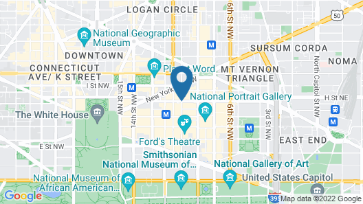 Heaven on Washington - Center of City Map