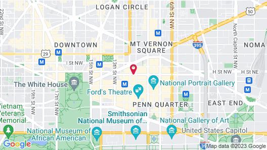 Grand Hyatt Washington Map