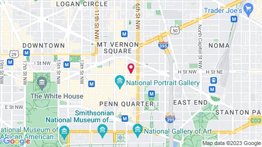Motto by Hilton Washington DC City Center Map