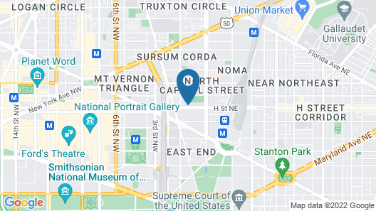 Price DC Corp Rentals by NamaStay Map