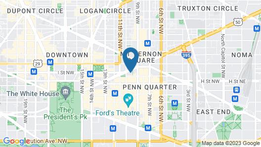Conrad Washington DC Map