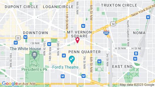 Renaissance Washington, DC Downtown Hotel Map