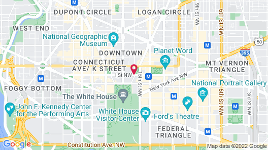 Luxury Apartments By White House Map