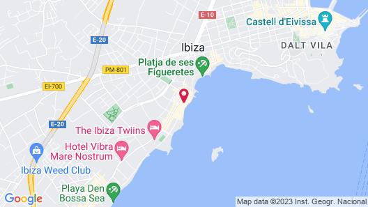 Apartamentos Bossa Bay Map