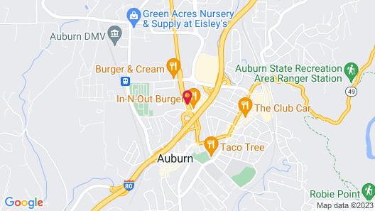 Holiday Inn Auburn Map