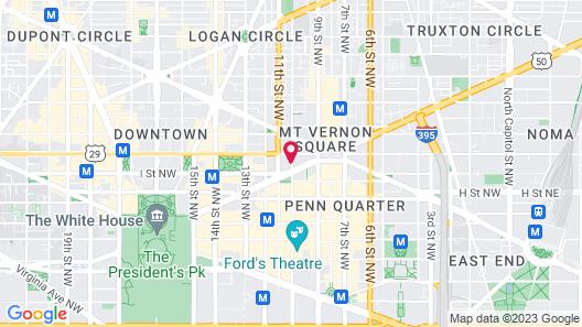 Embassy Suites by Hilton Washington D.C. – Convention Center Map