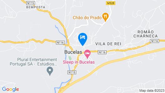 Casa da Morgadinha Map