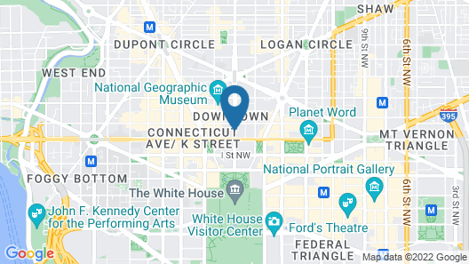 The Capital Hilton Map