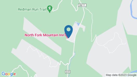 North Fork Mountain Inn Map