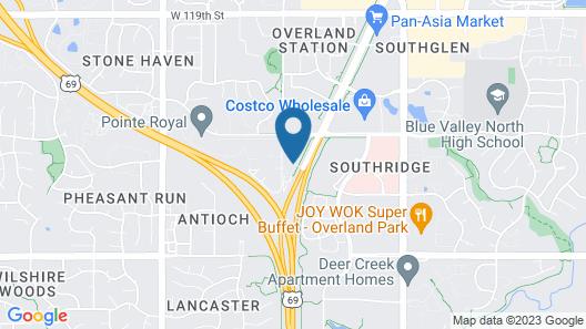 Fairfield Inn & Suites by Marriott Kansas City Overland Park Map