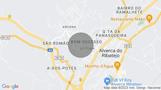 2bed 15min Lisbon W/wifi, ac, Parking Map