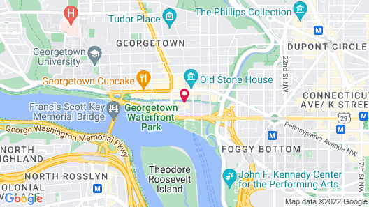 Rosewood Washington, D.C. Map