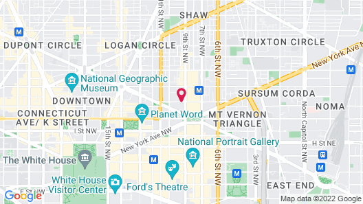 Residence Inn by Marriott Washington Downtown/Convention Center Map