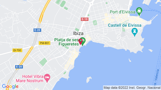 One Ibiza Suites Map