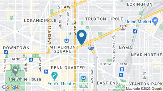 Homewood Suites Washington DC Convention Center Map