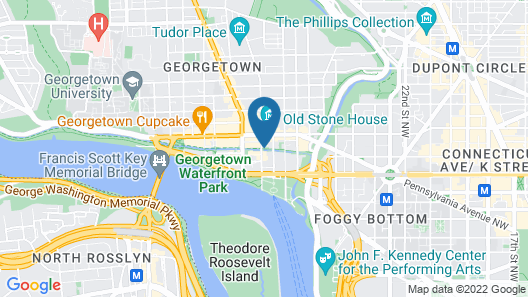 The Georgetown House Map