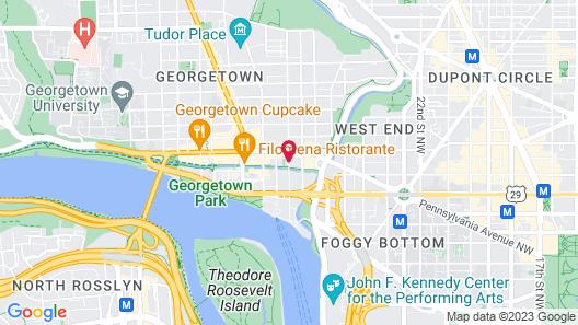 Georgetown Suites Courtyard Map