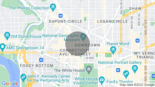 2021 Presidential Inauguration, 1\17 - 1\21, 5 Nt Map