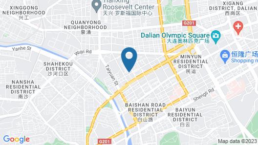 Dalian Aulicare Hotel Map