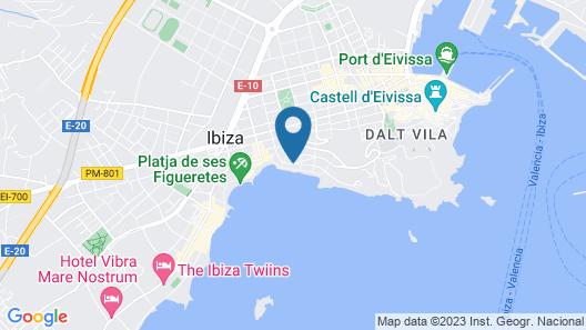 Sud Ibiza Suites Map