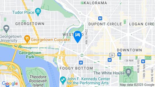 Park Hyatt Washington Map