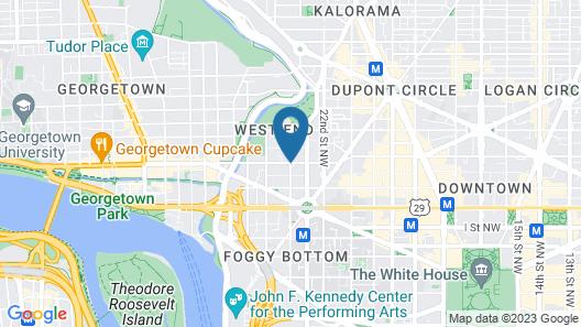The Westin Georgetown, Washington D.C. Map