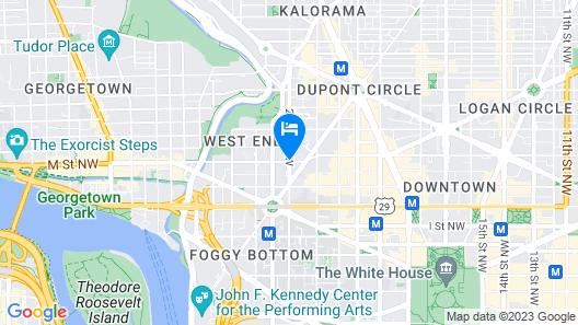 Hyatt Place Washington DC/Georgetown/West End Map