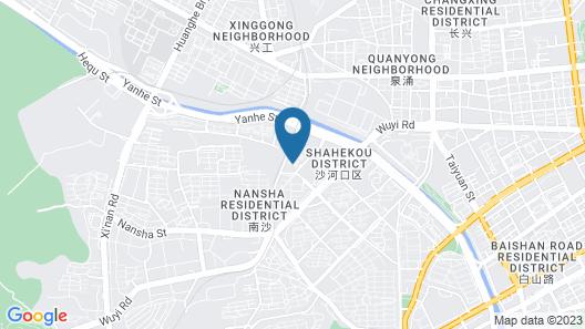 Aerbin Jin Shan Hotel - Dalian Map