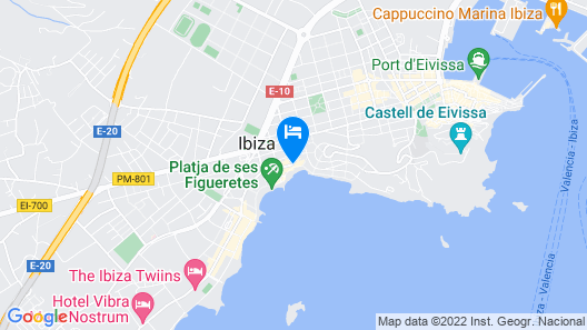 Suncoast Ibiza Hotel Map