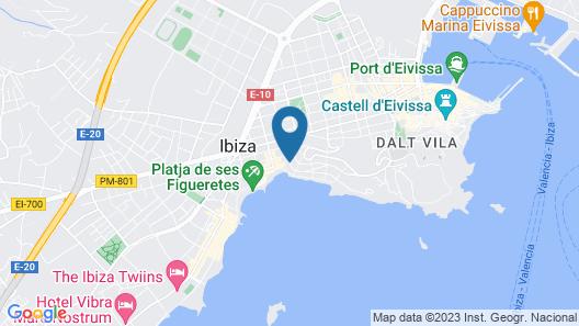 Eurostars Ibiza Map