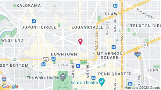Washington Plaza Map