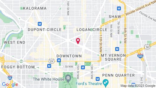 Homewood Suites by Hilton Washington, D.C. Downtown Map