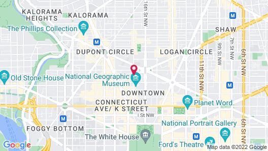 Beacon Hotel & Corporate Quarters Map