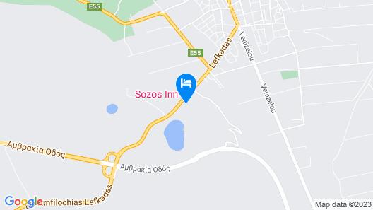 Sozos Inn Hotel Map