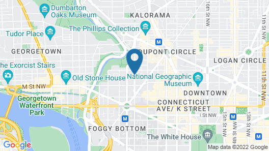 Embassy Suites by Hilton Washington D.C. Georgetown Map