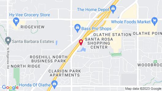 Residence Inn by Marriott Olathe Kansas City Map