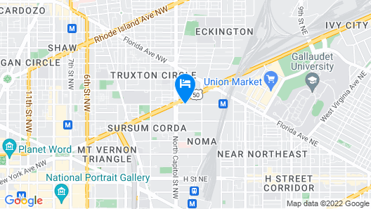 Hyatt Place Washington DC/US Capitol Map