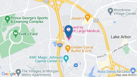 Courtyard Largo Medical Center Drive Map