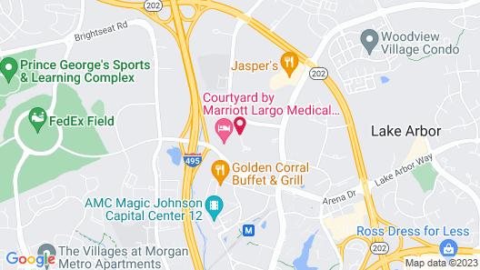 Residence Inn Largo Medical Center Drive Map