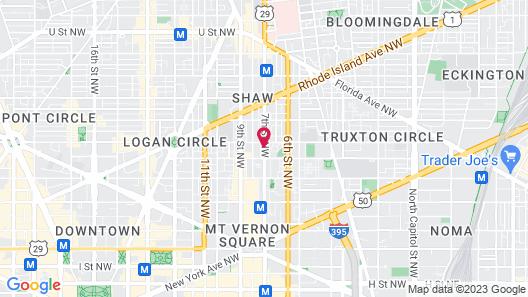 Cambria Hotel Washington, D.C. Convention Center Map