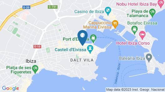 Gran Hotel Montesol Ibiza Map