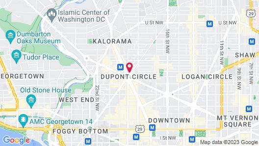 The Dupont Circle Hotel Map