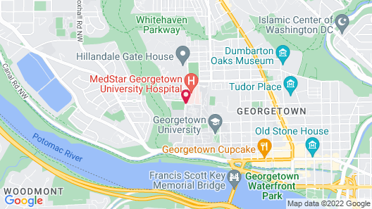 Georgetown University Hotel and Conference Center Map