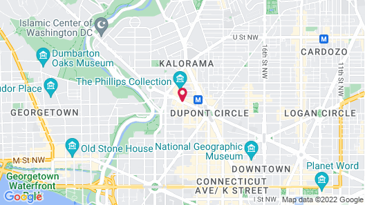 The Fairfax at Embassy Row, Washington, D.C. Map