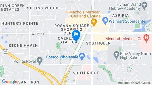Residence Inn by Marriott Kansas City Overland Park Map