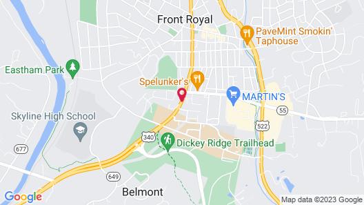 Royal Inn Motel Map
